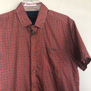 Ted Baker London Short Sleeve Button Shirt